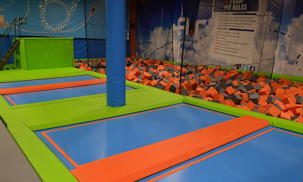 Product image for Flight Fit N Fun $24 For A 90-Minute Jump Pass For 2 (Reg. $48)