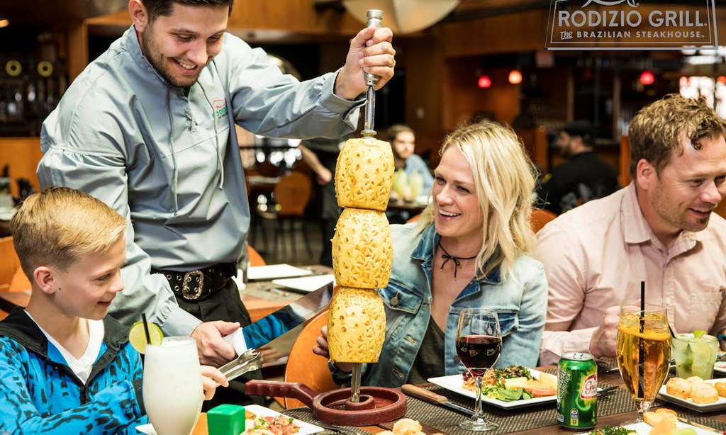 Product image for Rodizio Grill - Hamilton Place $25 for $50 Worth of Authentic Brazilian Cuisine