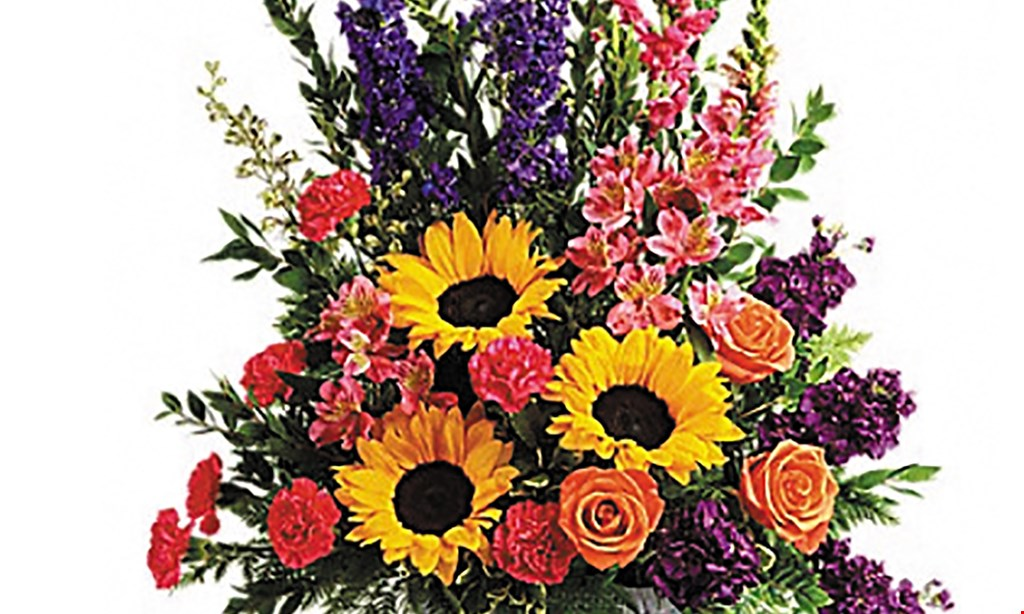 Product image for Sarah's Flowers $25 For $50 Toward Any Floral Arrangement