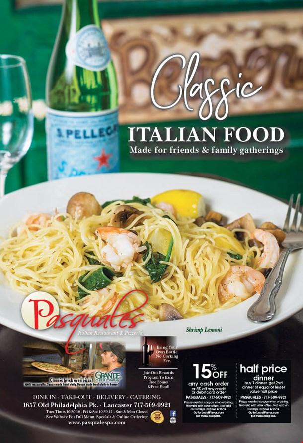 LocalFlavor com - Pasquale's Italian Restaurant and Pizzeria