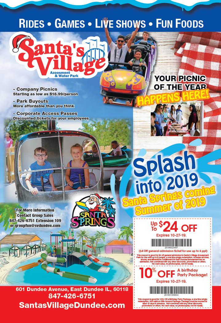 santas village azoosment park coupons