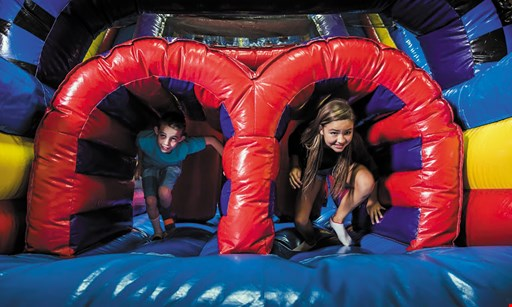 Product image for Pump It Up $22.49 For 5 Open Jump Passes (Reg. $45)