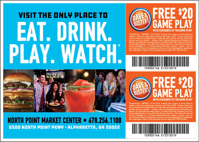 image regarding Dave and Busters Printable Coupons referred to as - Dave and Busters Discount coupons