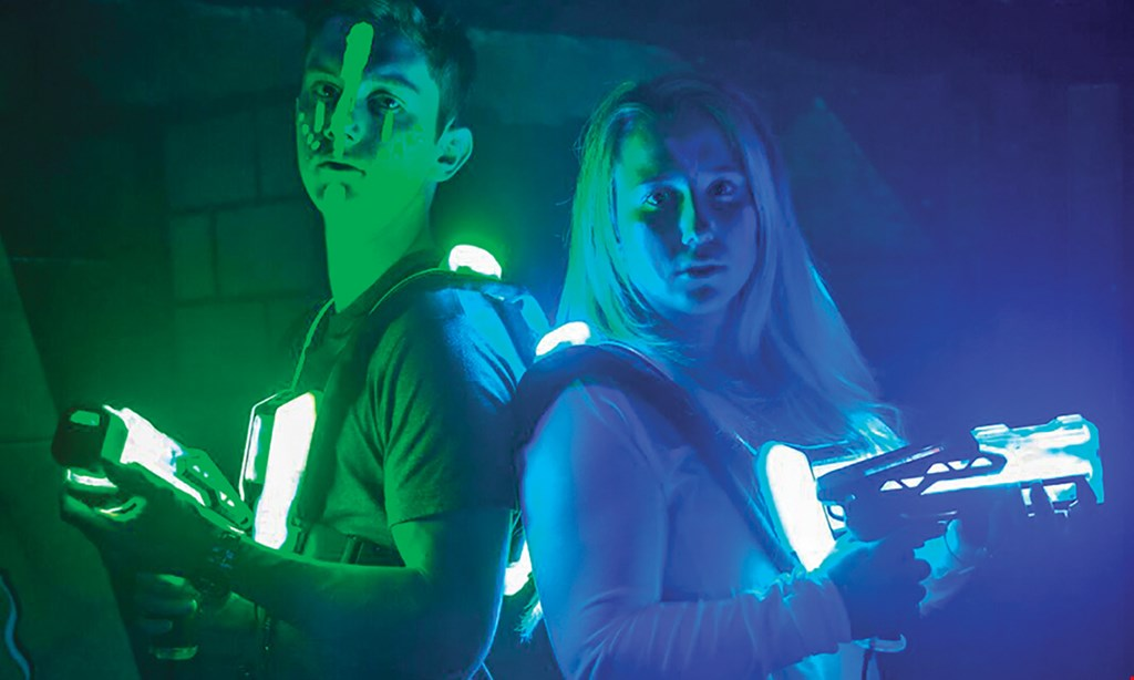 Product image for Fun Warehouse $16 For 2 Games Of Laser Tag For 2 People (Reg. $32)