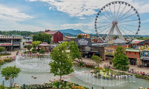 Product image for The Island $32 For Four Adult Tickets To Ride The Wheel At The Island Pigeon Forge (Reg. $64)