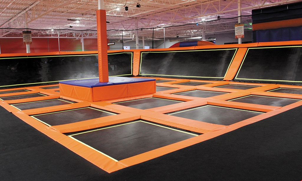 Product image for X Factor Trampoline $20 For 2 Hours Of Jump Time For 2 People (Reg. $40)