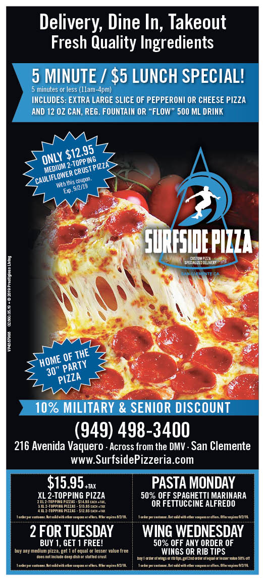 surfside pizza coupons