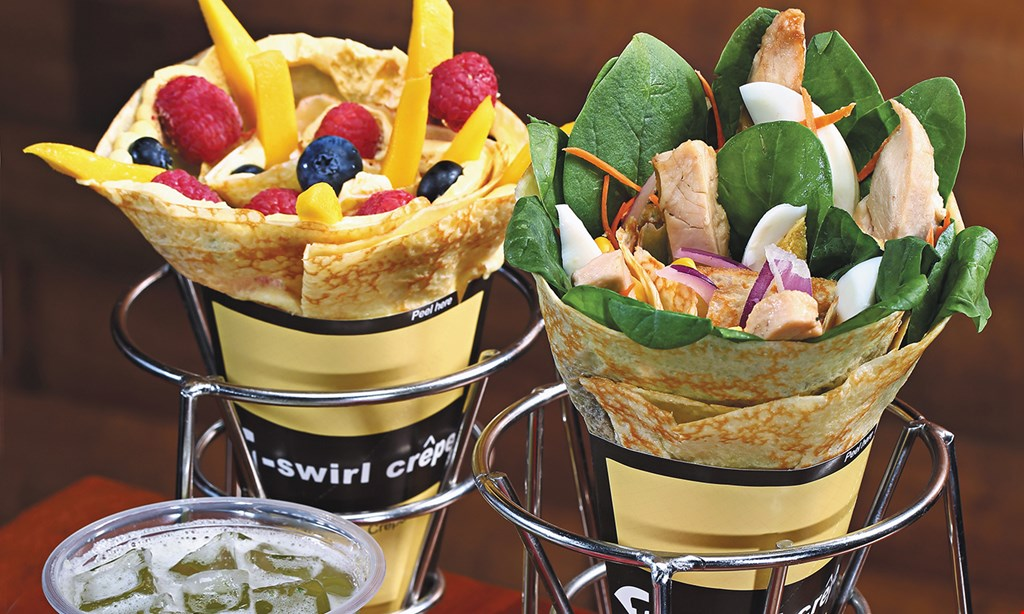 Product image for T-swirl Crepe $10 For $20 Worth Of Casual Dinner Dining