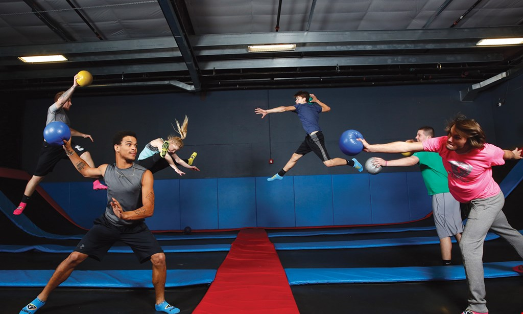 Product image for Flight Fit N Fun $16 For A 60-Minute Jump Session For 2 (Reg. $32)