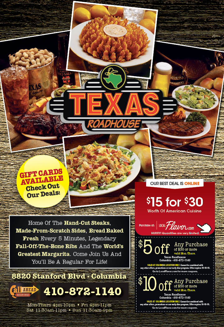picture regarding Texas Roadhouse Free Appetizer Printable Coupon known as - Texas Roadhouse - $15 For $30 Value Of