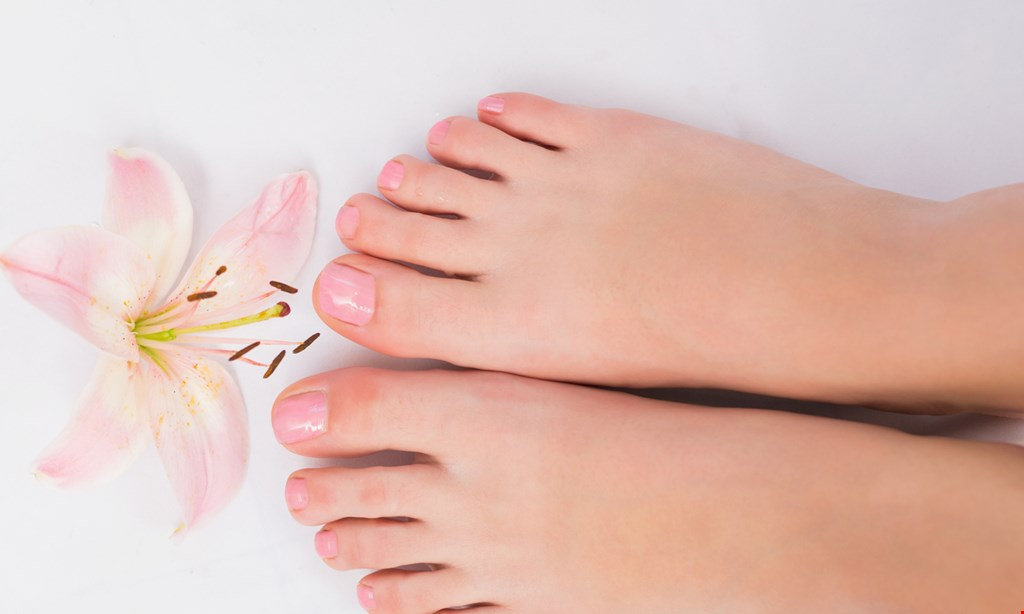 Product image for Be Pampered Foot Spa $25 for $50 For one hour Deluxe Pedicure w/ Lavender, Reflexology, Foot Detox, or Eucalyptus treatment (choice of one)