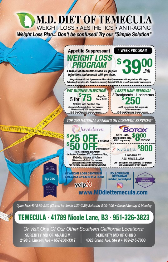 LocalFlavor com - Md Diet Of Temecula Coupons