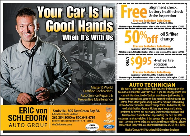 Ernie Von Schledorn >> Localflavor Com Eric Von Schledorn Auto Group Coupons