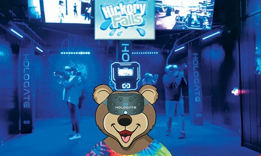 Product image for Hickory Falls Family Entertainment $22 For Pick 2 Attraction Packages For 2 Guests Including Virtual Reality With 2 Game Cards (Reg. $44)