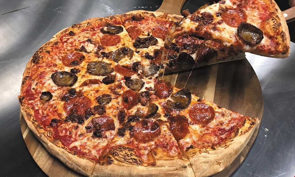 Product image for Tom's Pizza World $10 For $20 Worth Of Italian Cuisine