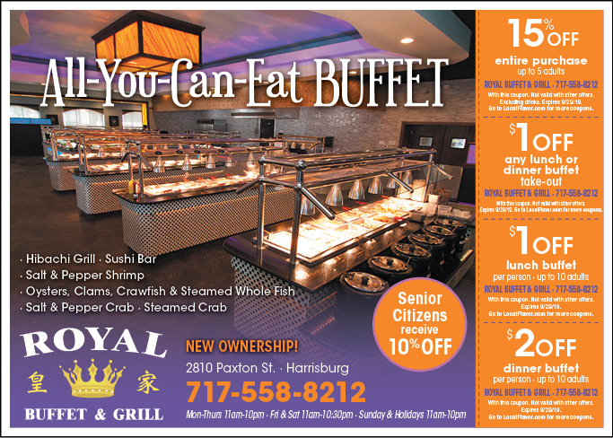 image about Royal Buffet Printable Coupons known as - Royal Buffet Discount codes