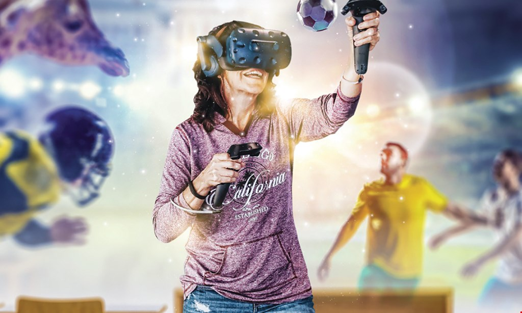 Product image for Switch VR $20 For 60 Minutes Of Virtual Reality Play (Reg. $40)