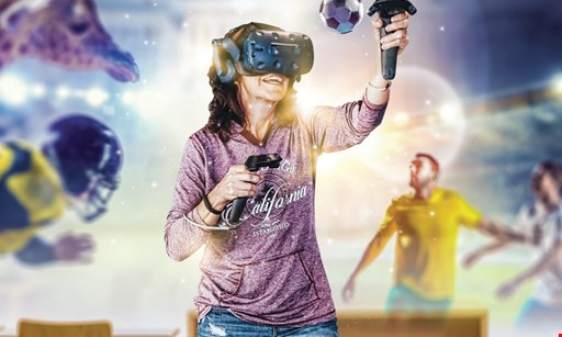 Product image for Switch VR $25 For 60 Minutes Of Virtual Reality Play For 2 People (Reg. $50)