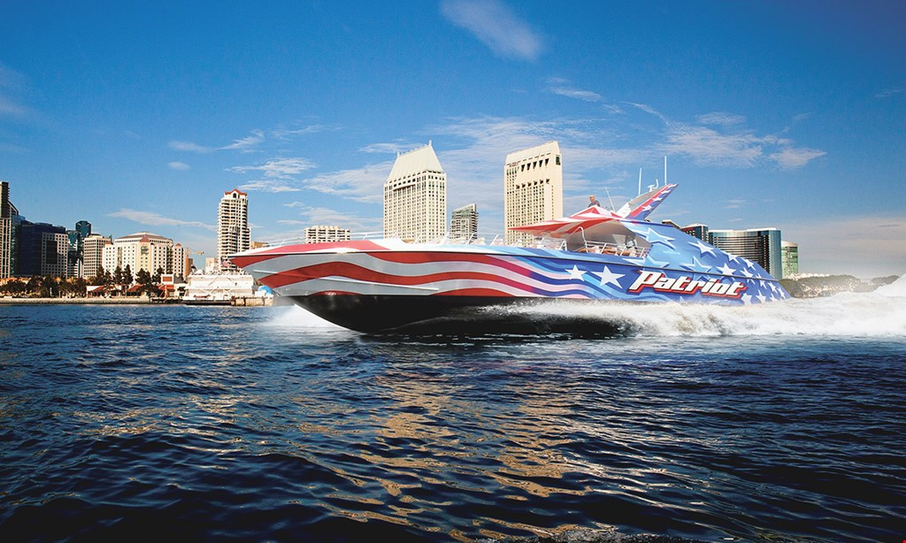 Product image for Flagship Cruises & Events $32 For A 30-Minute Patriot Jet Boat Ride For 2 People (Reg. $64)