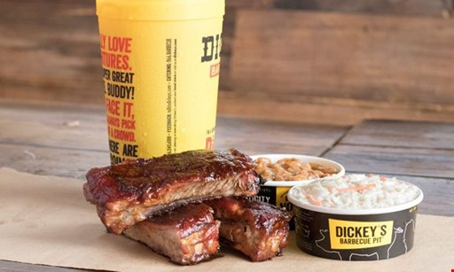 Product image for Dickey's Barbeque Pit Hardin Valley $10 for $20 Worth of Food & Drinks