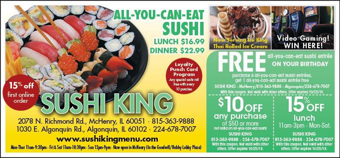 sushi king coupon richmond va