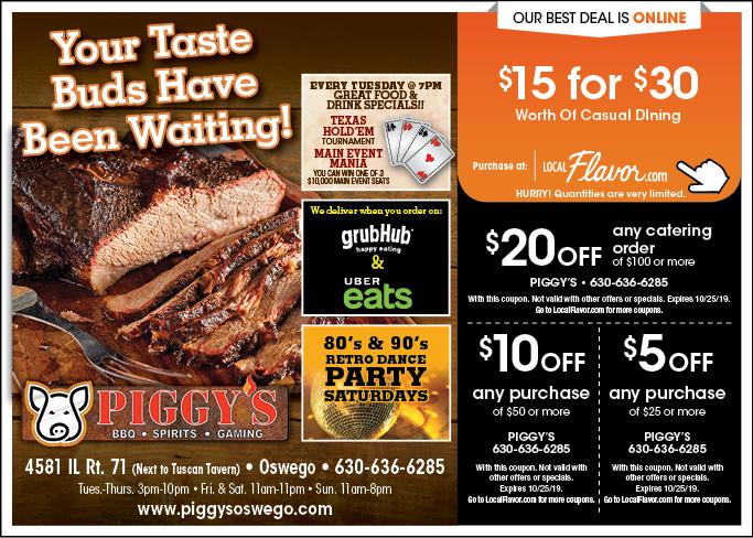 piggys bbq coupons