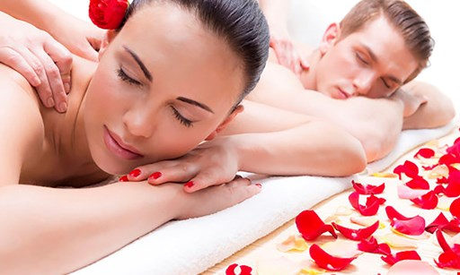 Product image for Rapunzel's Salon & Spa $90 For A Couples Aromatherapy Massage With Complimentary Champagne (Reg. $185)