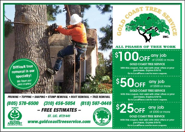 LocalFlavor com - Gold Coast Tree Service Coupons