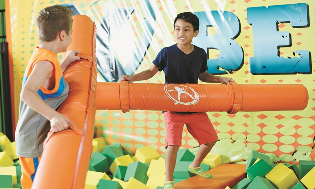 Product image for Rockin' Jump $15 For 2 1-Hour Jump Passes (Reg. $30)