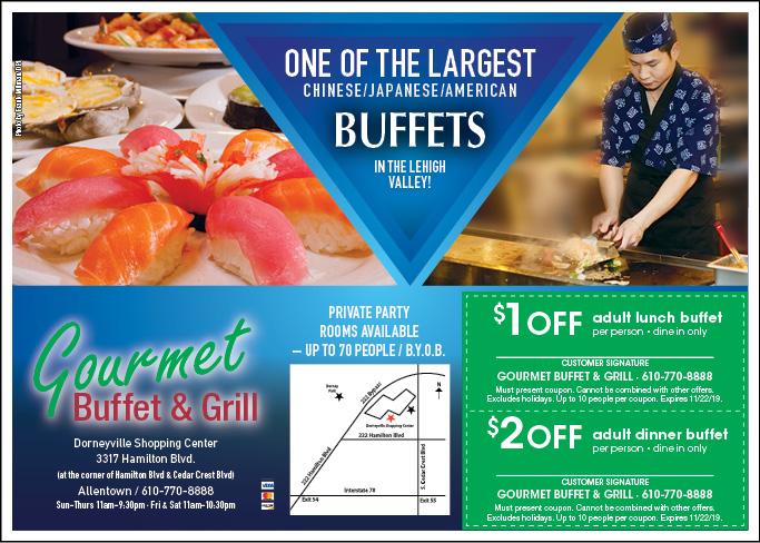 restaurant coupons lehigh valley