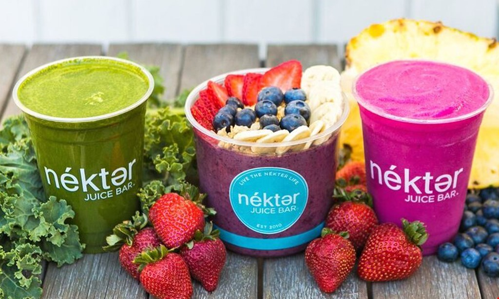 Product image for Nekter Juice Bar $10 for $20 Worth of Healthy Food and Beverages