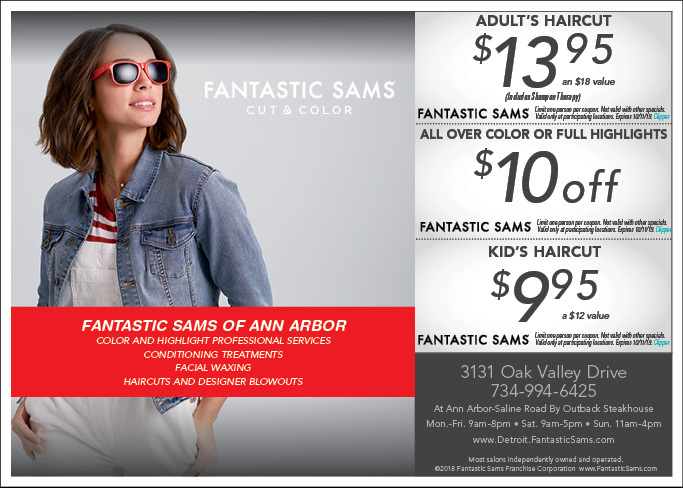 photograph regarding Fantastic Sams Printable Coupon called - Terrific Sams Minimize and Colour Discount coupons