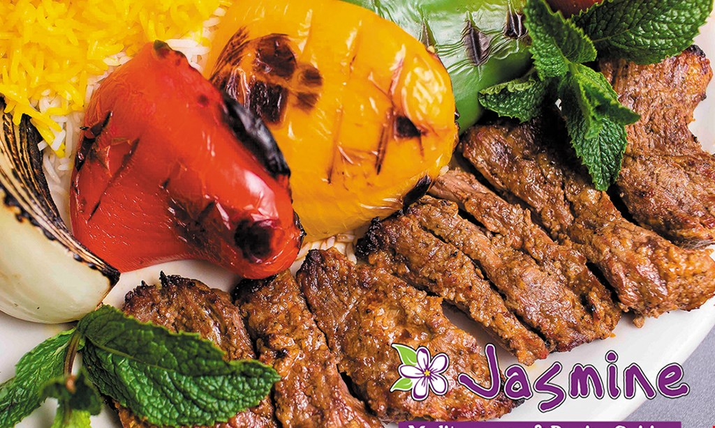 Product image for Jasmine Grill & Cafe $15 For $30 Worth Of Mediterranean & Persian Cuisine
