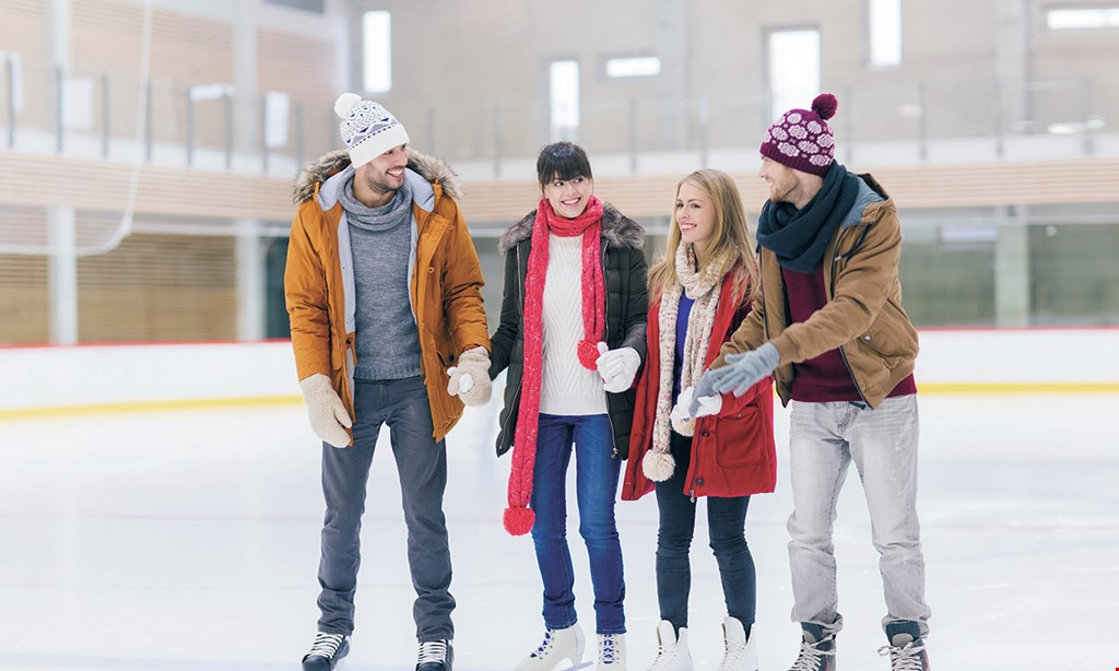 Product image for ICELand USA $11 For Public Ice Skating For 2 People Including Skate Rental (Reg. $22)