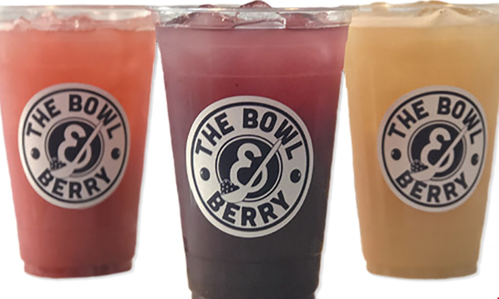 Product image for The Bowl & Berry $10 For $20 Worth Of Smoothies & More