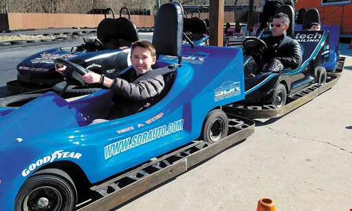 Product image for The Go-Kart Track, Inc. $23 For 4 Go-Kart Rides & 2 Mini-Golf Games (Reg. $46)