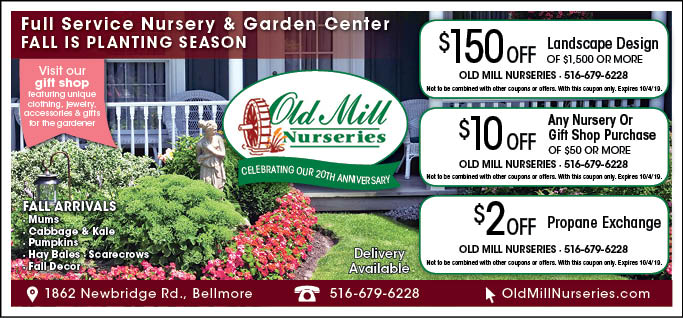 old mill nursery coupons