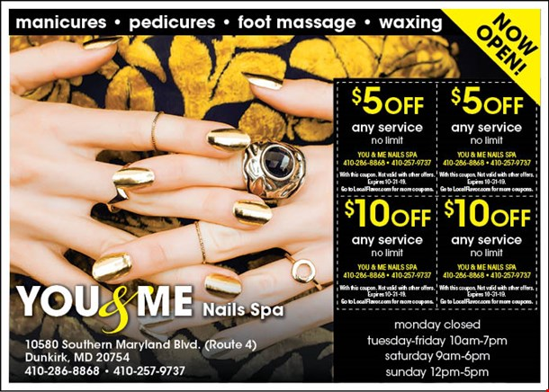 Localflavor Com You And Me Nails Spa Coupons