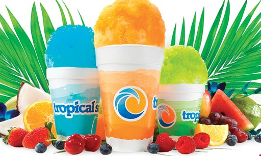 Product image for Tropical Sno $10 For $20 Worth Of Shaved Ice