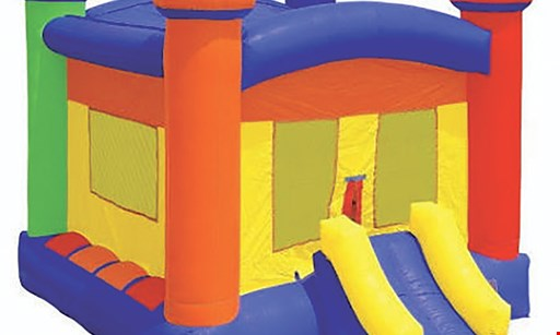 Product image for Southern Party Rentals $75 For 1-Day Rental Of Crayon Or Castle Bouncer (Reg. $150)