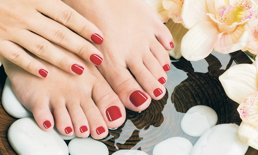 Product image for Goveias Salon & Spa at Arizona Golf Resort $55 For A 2-Hour Luxury Spa Manicure & Spa Pedicure Combo (Reg. $110)