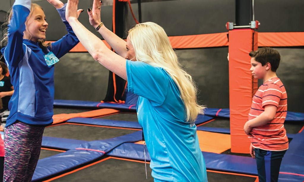 Product image for Sky Zone Trampoline Park - Highland Heights $21 For 90-Minute Jump Passes For 2 (Reg. $42)