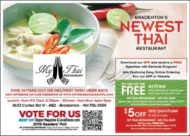 Localflavor Com My Thai Restaurant 12 50 For 25 Worth