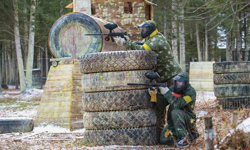 Product image for Steeltown Paintball Park $33 For An All Day Paintball Package For 2 Including Equipment, Air & 100 Paintballs (Reg. $66)