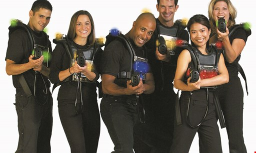 Product image for Luigi's Pizza and Fun Center $16 For A 30-Minute Laser Tag Game For 2 People (Reg. $32)