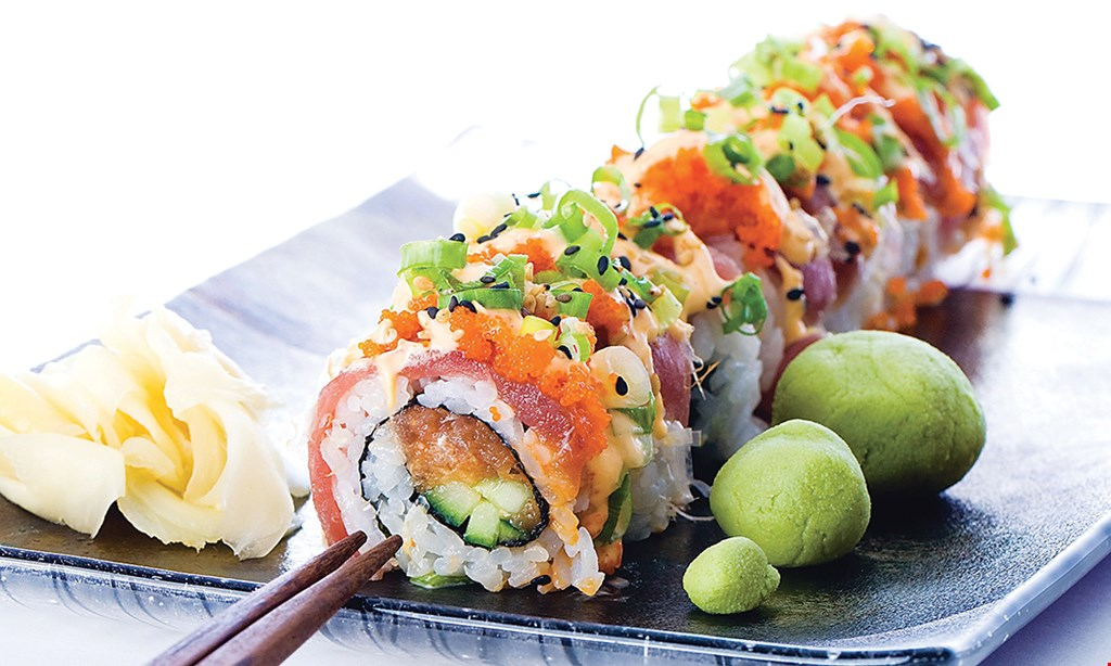 Product image for Ginza Sushi Fusion Cuisine $20 For $40 Worth Of Casual Cuisine