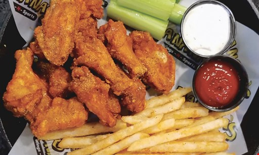 Product image for Bananas Wings-N-Sports $10 For $20 Worth Of Casual Dining