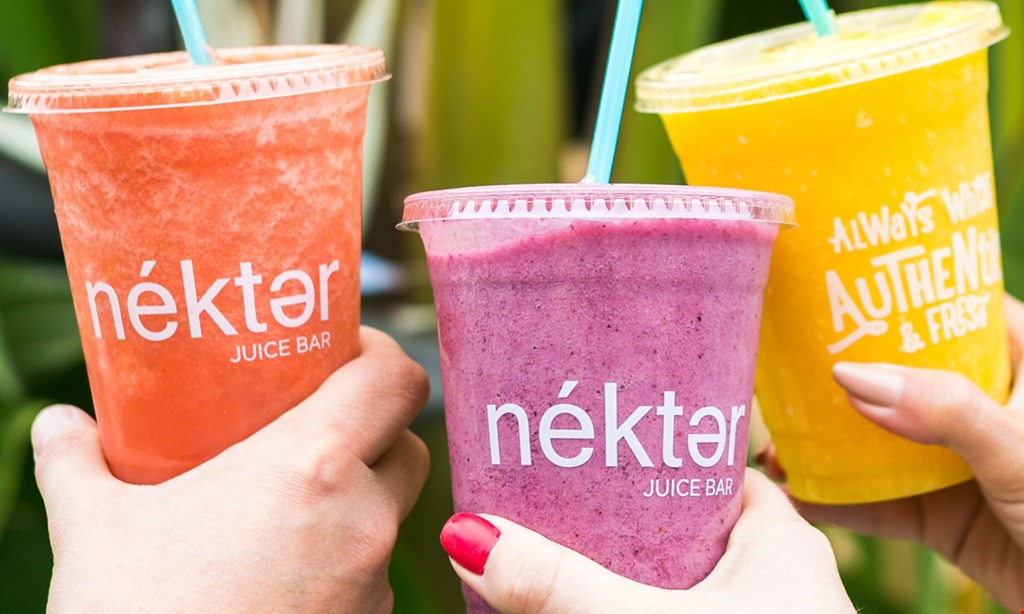 Product image for Nekter Juice Bar (Kennedy Blvd / Tampa) $10 for $20 Worth of Healthy Food and Beverages