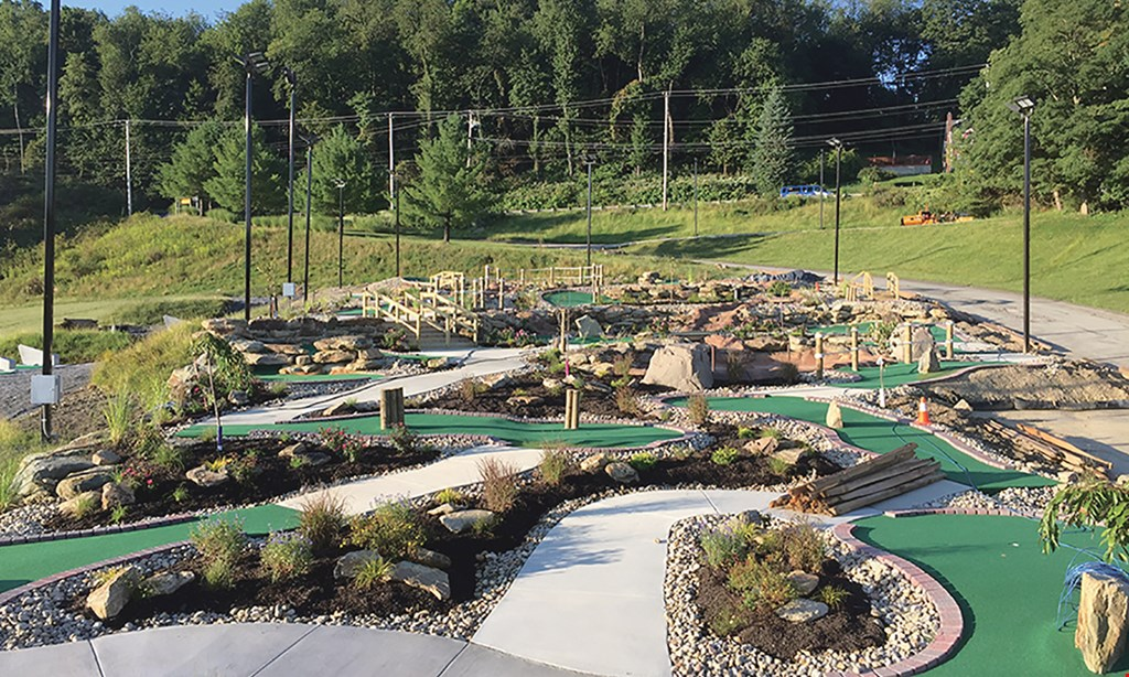 Product image for Pine Creek Putt Putt & Ice Cream Shop $16 For A Round Of Mini Golf For 4 (Reg. $32)