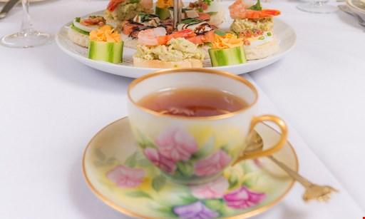 Product image for A Tea Affair (Tea Room Location) $29.95 For Afternoon Tea For 2 (Reg. $59.90)